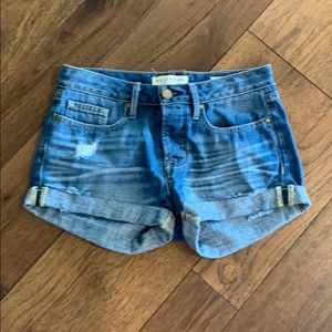 Great, like new, denim shorts